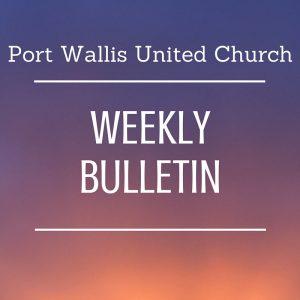 Bulletin May 27, 2018