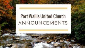 Announcements Oct 22- 29, 2017