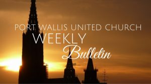 Bulletin Oct 21, 2018