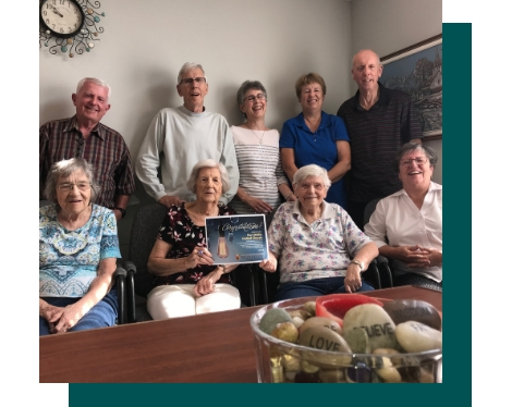 port wallis seniors group ann baker trust award
