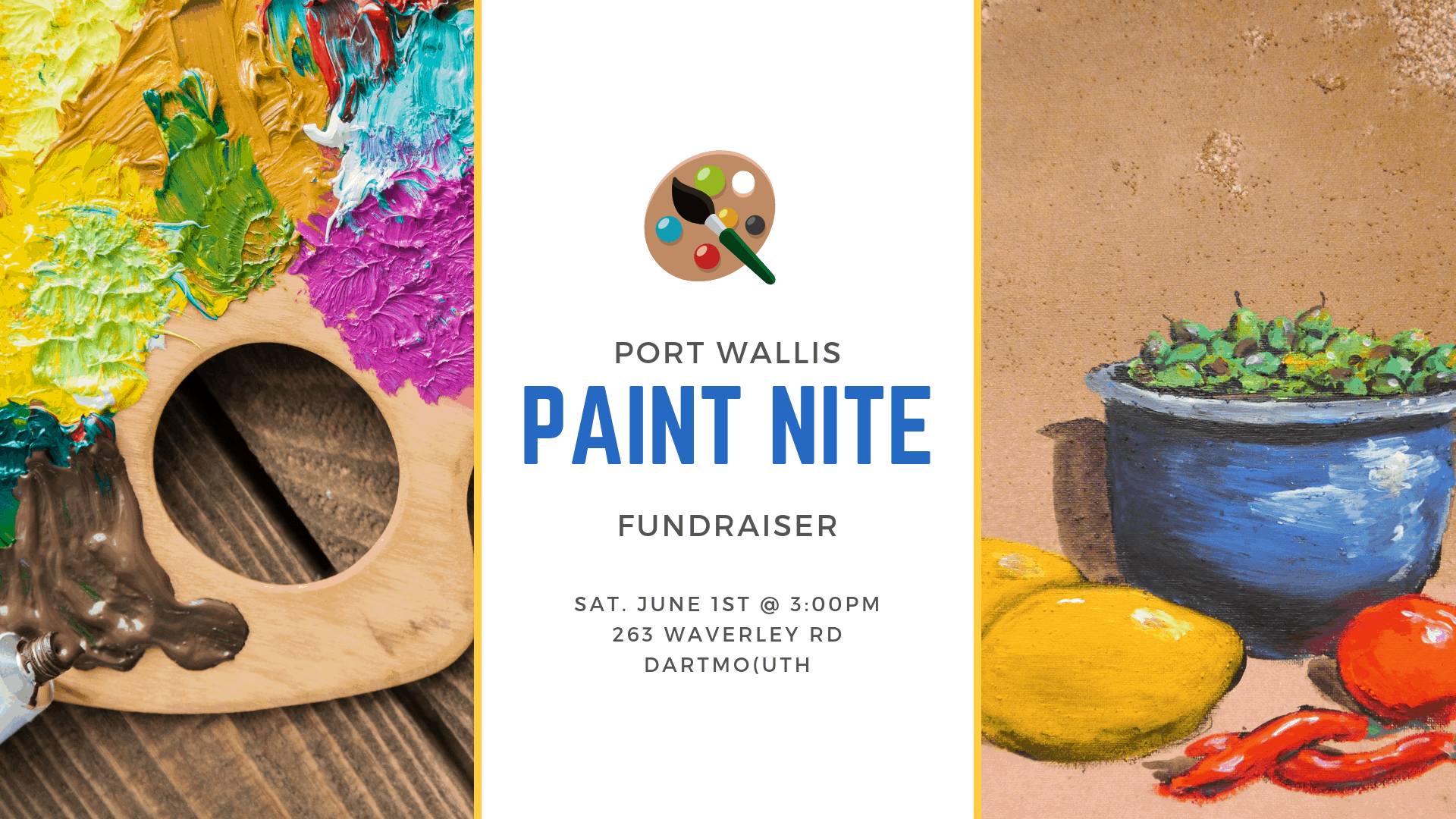 paint nite in dartmoth ns